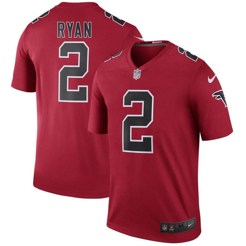 Matt Ryan Atlanta Falcons Nike Color Rush Legend Jersey Red
