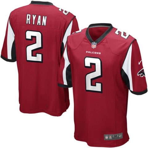 Matt Ryan Atlanta Falcons Nike Game Jersey Red