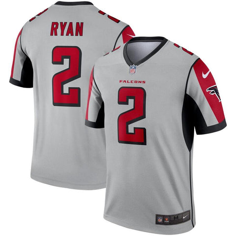 Matt Ryan Atlanta Falcons Nike Inverted Legend Jersey Silver