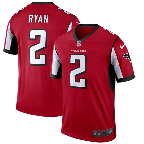 Matt Ryan Atlanta Falcons Nike Legend Jersey Red