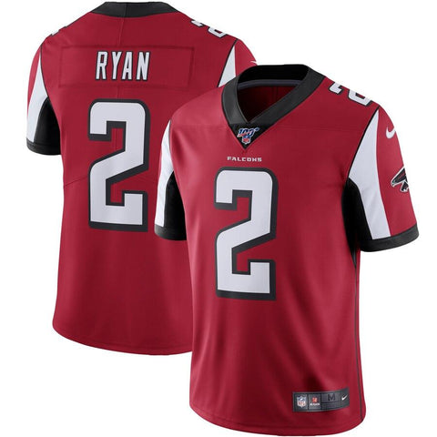 Matt Ryan Atlanta Falcons Nike NFL 100 Vapor Limited Jersey Red