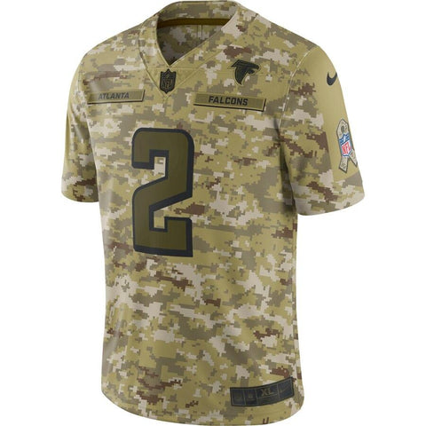 Matt Ryan Atlanta Falcons Nike Salute to Service Limited Jersey Camo