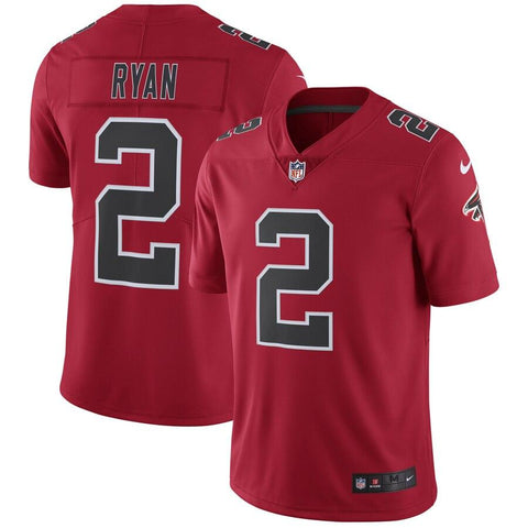 Matt Ryan Atlanta Falcons Nike Vapor Untouchable Color Rush Limited Player Jersey Red