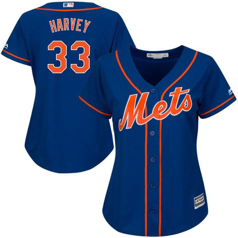 NewYork Mets Majestic Women's Cool Base Player Jersey Royal