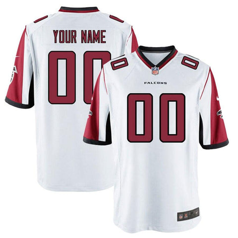 Nike Men's AtlantaFalcons Customized Game White Jersey