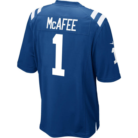 Pat McAfee Indianapolis Colts Nike Game Jersey Royal Blue
