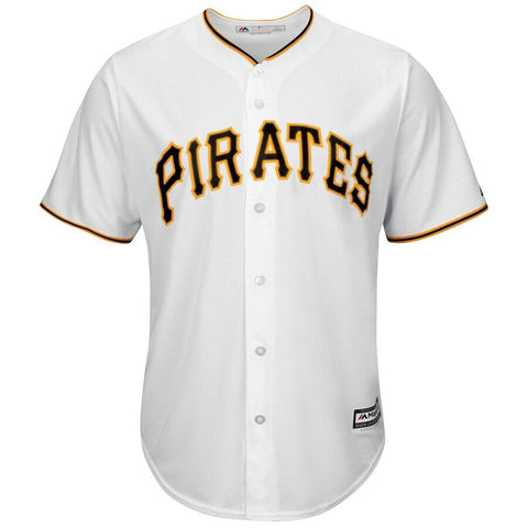 PittsburghPirates Majestic Official Cool Base Jersey White