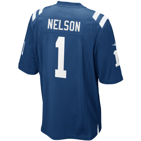 Quenton Nelson Indianapolis Colts Nike 2018 NFL Draft First Round Pick Game Jersey Royal