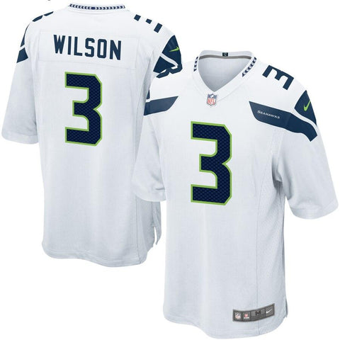 Russell Wilson Seattle Seahawks Nike Game Jersey White