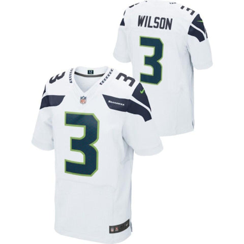 Russell Wilson Seattle Seahawks Nike Limited Jersey White