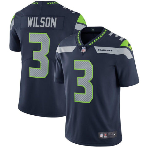 Russell Wilson Seattle Seahawks Nike Vapor Untouchable Limited Player Jersey College Navy