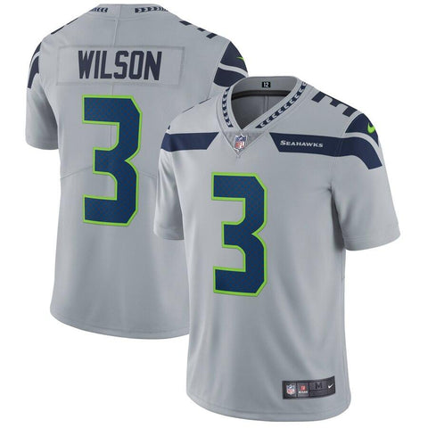 Russell Wilson Seattle Seahawks Nike Vapor Untouchable Limited Player Jersey Gray
