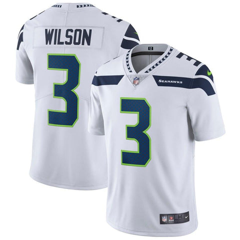 Russell Wilson Seattle Seahawks Nike Vapor Untouchable Limited Player Jersey White