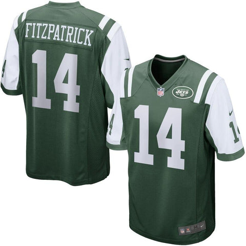 Ryan Fitzpatrick New York Jets Nike Game Jersey Green