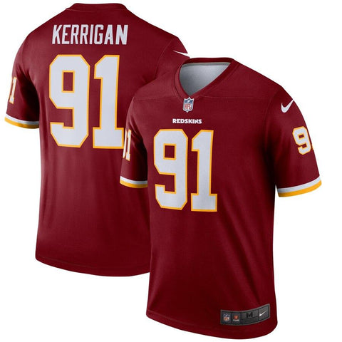 Ryan Kerrigan Washington Redskins Nike Legend Jersey Burgundy