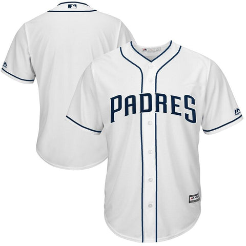 SanDiegoPadres Majestic Cool Base Team Jersey White