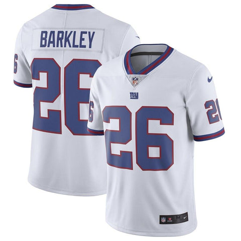 Saquon Barkley New York Giants Nike Color Rush Limited Jersey White
