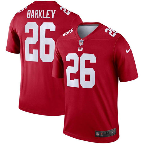 Saquon Barkley New York Giants Nike Inverted Legend Jersey Red