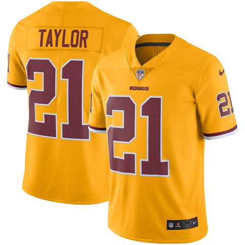 Sean Taylor Washington Redskins Nike Color Rush Vapor Untouchable Retired Player Limited Jersey Gold