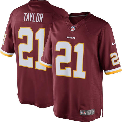 Sean Taylor Washington Redskins Nike Retired Player Limited Jersey Burgundy
