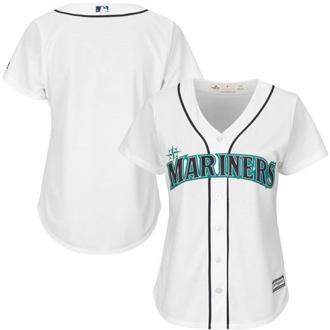 SeattleMariners Majestic Women's Cool Base Jersey White