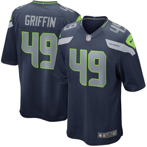 Shaquem Griffin Seattle Seahawks Nike Game Jersey Navy