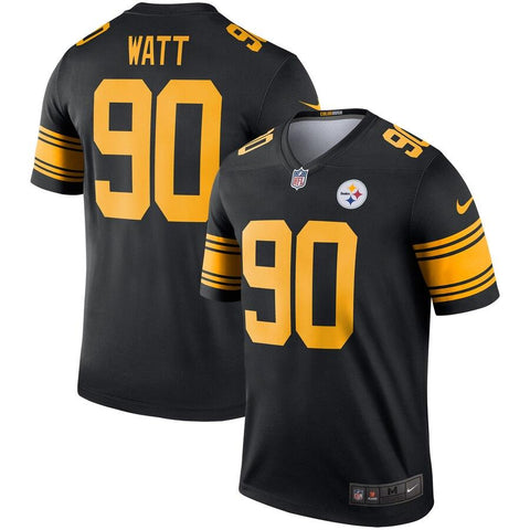 T.J. Watt Pittsburgh Steelers Nike Color Rush Legend Player Jersey Black