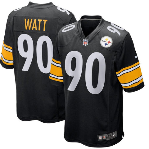T.J. Watt Pittsburgh Steelers Nike Game Jersey Black