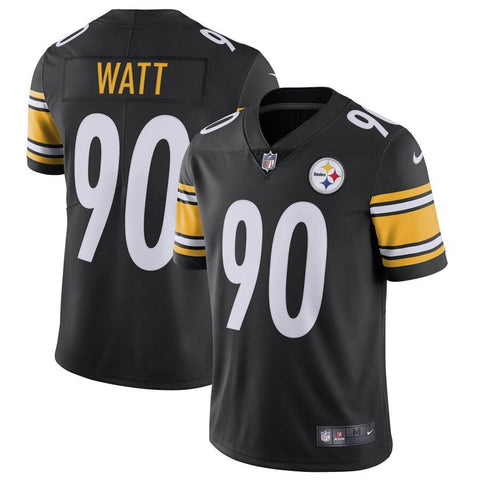 T.J. Watt Pittsburgh Steelers Nike Vapor Untouchable Limited Jersey Black