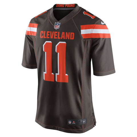 Terrelle Pryor Cleveland Browns Nike Game Jersey Brown