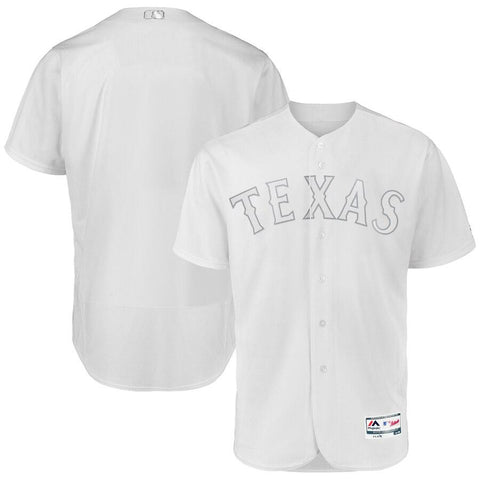 TexasRangers Majestic 2019 Players Weekend Authentic Team Jersey White