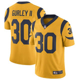 Todd Gurley II Los Angeles Rams Nike Vapor Untouchable Color Rush Limited Player Jersey Gold