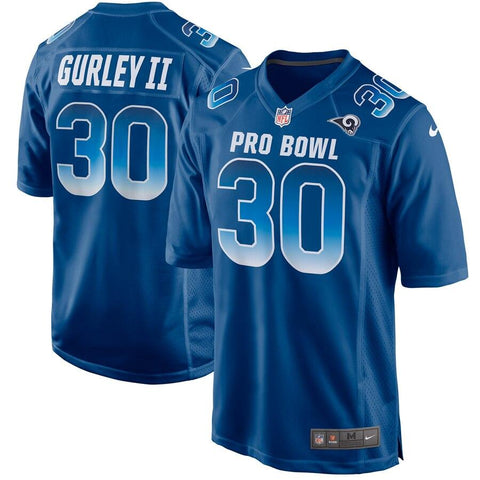 Todd Gurley II NFC Nike 2019 Pro Bowl Game Jersey Royal