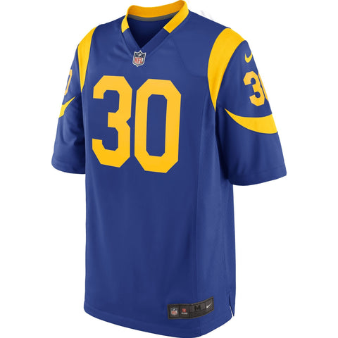 Todd Gurley Los Angeles Rams Nike Game Jersey Royal
