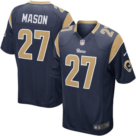 Tre Mason Los Angeles Rams Nike Game Jersey Navy