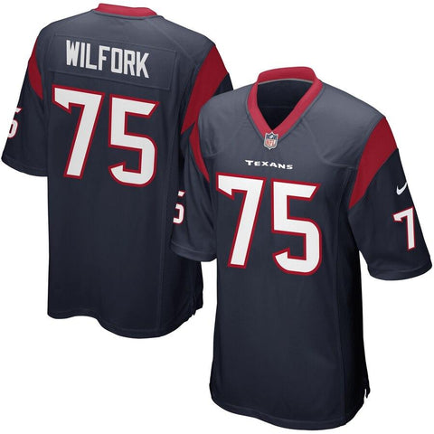 Vince Wilfork Houston Texans Nike Game Jersey Navy Blue