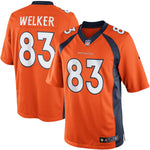 Wes Welker Denver Broncos Nike Team Color Limited Jersey Orange