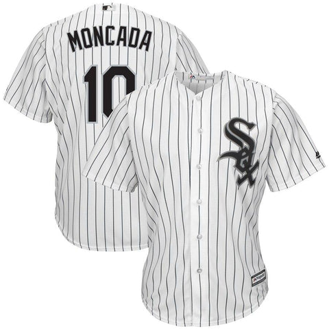 Yoan Moncada Chicago White Sox Majestic Home Official Cool Base Replica Player Jersey White