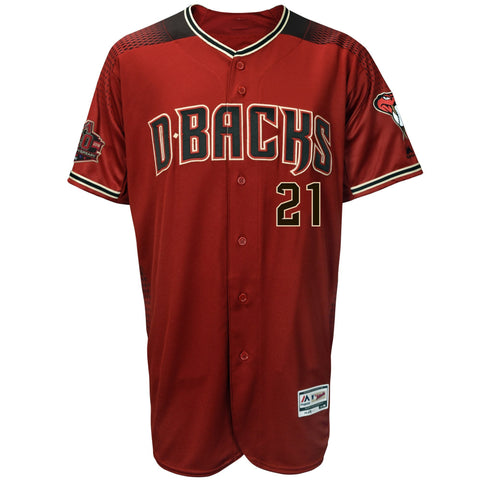 Zack Greinke Arizona Diamondbacks Alternate 20th Anniversary Player Jersey Sedona Red