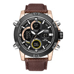 men's  luxury  cool  fashion  digital & quartz  watch