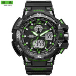 male   sport  cool  minimalist  digital & quartz  watch