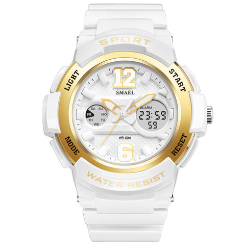 women's  sport  simple  casual  digital & quartz  watch