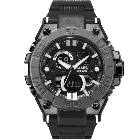 men's  sport  fashion  casual  digital & quartz  watch