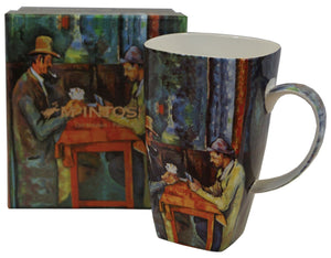 Cezanne The Card Players Grande Mug