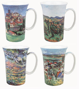 Cezanne set of 4 Mugs - McIntosh Shop - 1