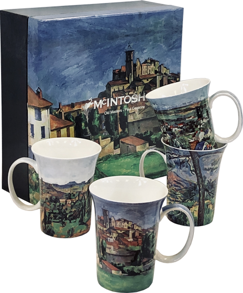 Cezanne set of 4 Mugs