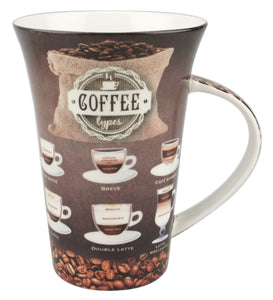 Coffee Types i-Mug - McIntosh Shop - 1