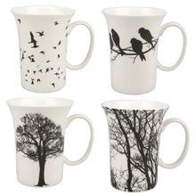 Load image into Gallery viewer, Eternal Silhouette Set of 4 Mugs - McIntosh Shop - 1