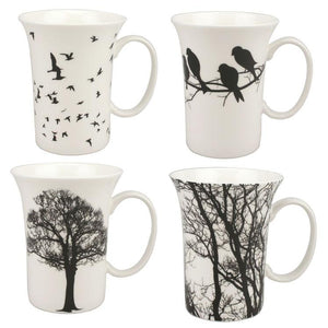 Eternal Silhouette Set of 4 Mugs - McIntosh Shop - 1