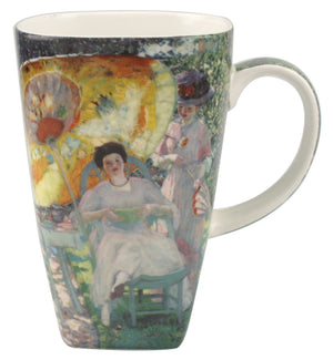 Frieseke The Garden Parasol Grande Mug - McIntosh Shop - 1